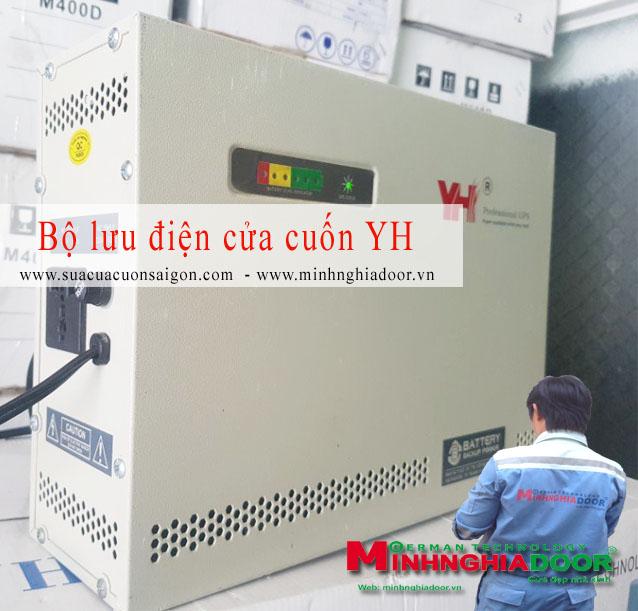 Sản phẩm cần bán: Bộ lưu điện cửa cuốn, giá bộ lưu điện cửa cuốn nào tốt nhất? Bo_luu_dien_cua_cuon_yh_minhnghiadoor