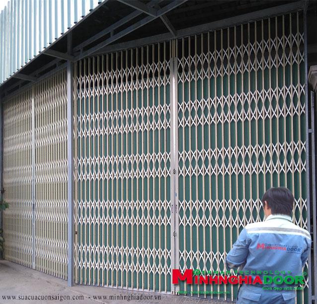 Dịch vụ sửa chữa: Sửa cửa cuốn Cuakeodailoan