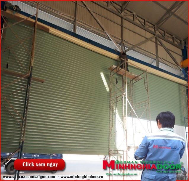 Dịch vụ sửa chữa: Sửa cửa cuốn Suacuacuon24h