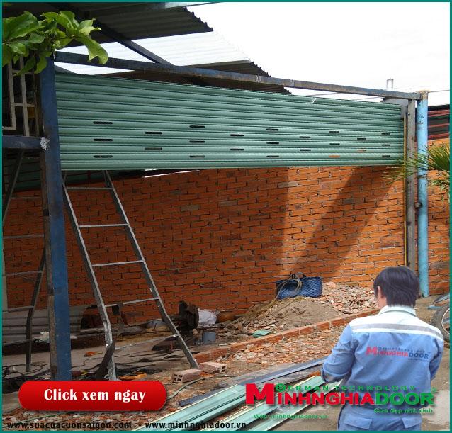 Dịch vụ sửa chữa: Sửa cửa cuốn Suacuacuonchuyennghiep